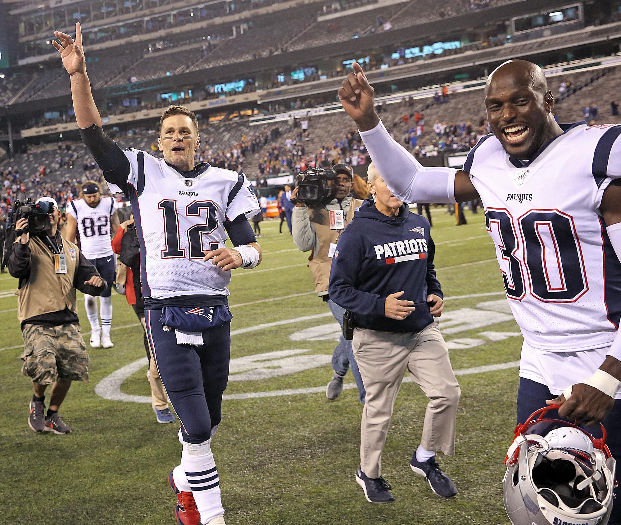 Patriots vs. Jets - Tom Brady