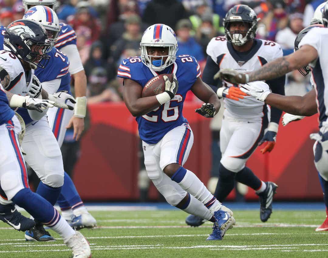 Bills vs. Broncos - Devin Singletary