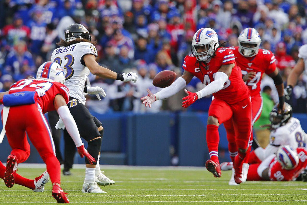 Ravens vs. Bills - Tremaine Edmunds