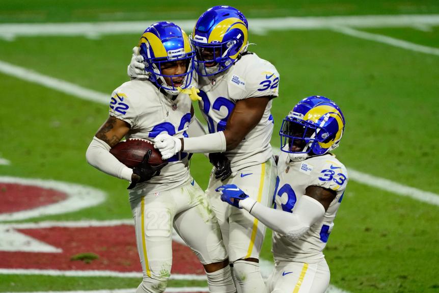 De Rams wonnen de NFC West divisieclash met de Cardinals