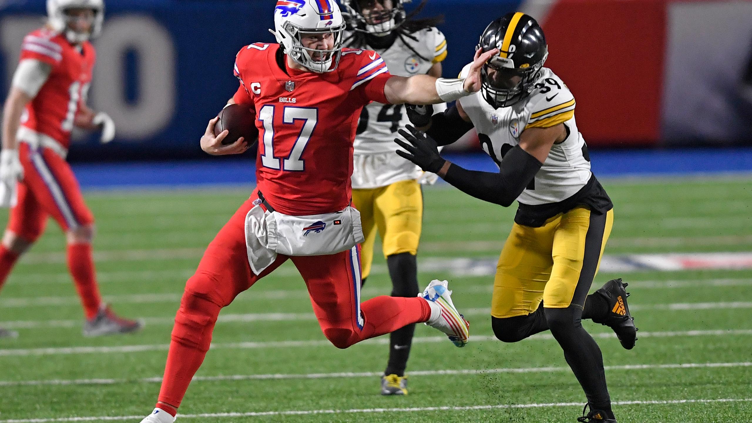 Josh Allen en de Buffalo Bills waren een maatje te groot voor de Steelers