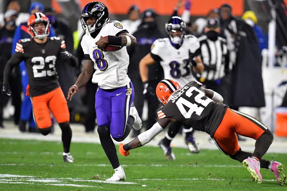 SportAmerika Football Pool - De Ravens wonnen MNF van de Browns