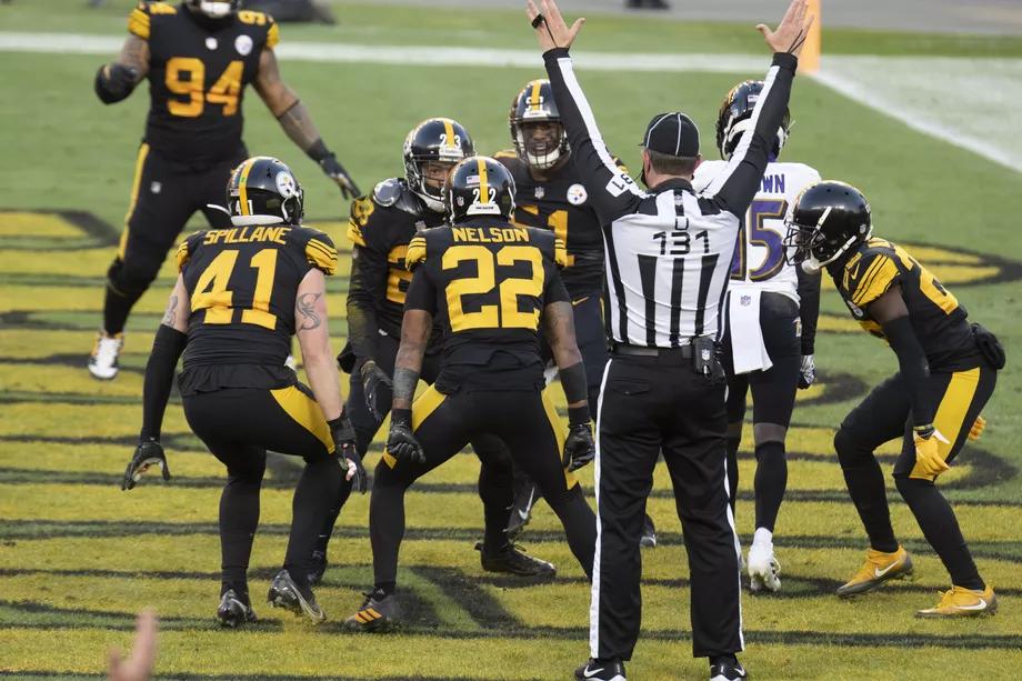 Steelers touchdown tegen de Ravens op Wednesday Night Football
